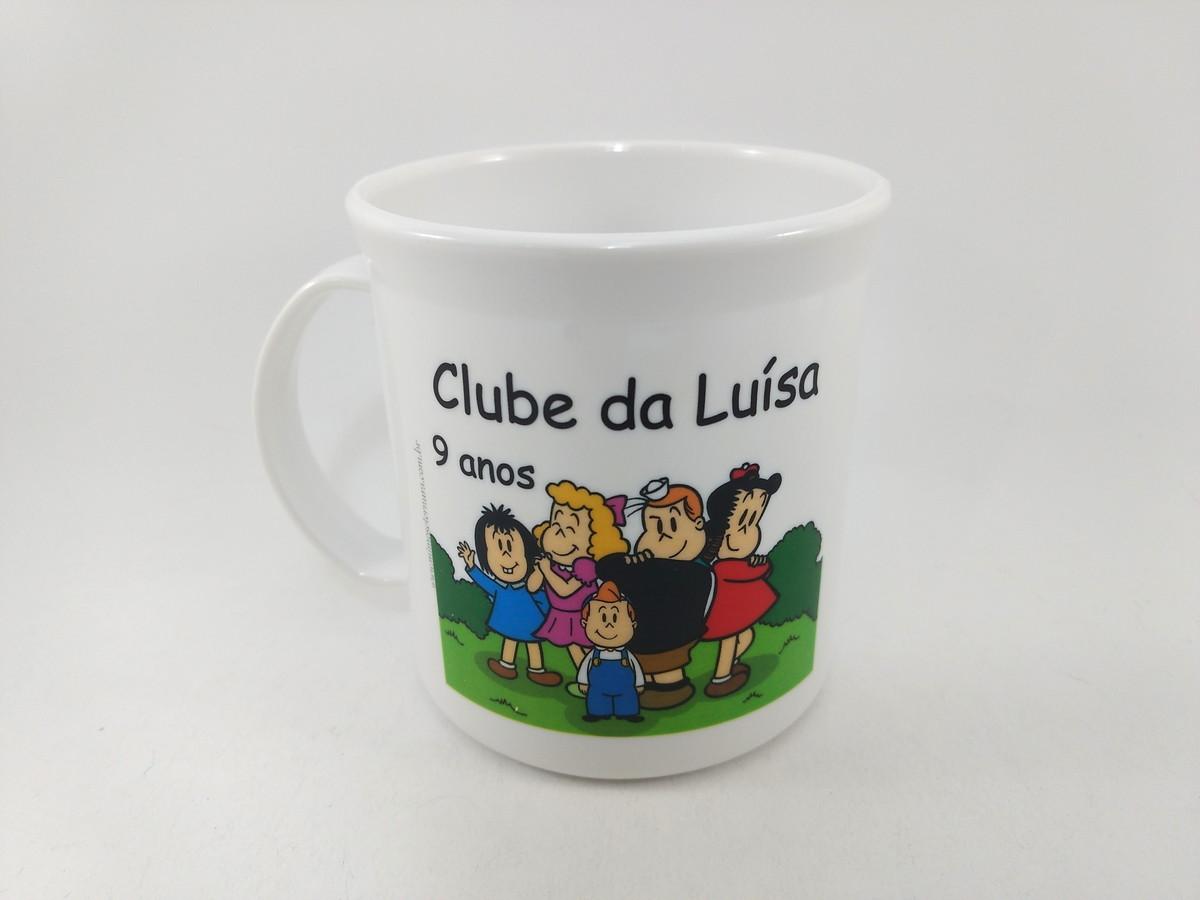419e5728ad Caneca personalizada aniversário clube da luluzinha no Elo7