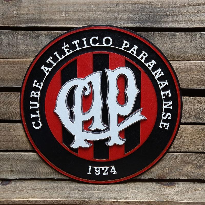 Placa Decorativa Em Alto Relevo Time Atlético Paranaense no Elo7 ... 080de7b98ad79
