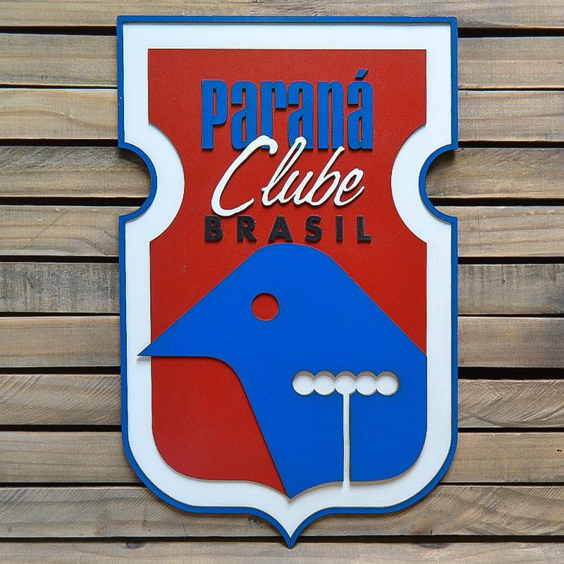 Placa Escudo Do Time Paraná Clube M no Elo7  1300730f527b6