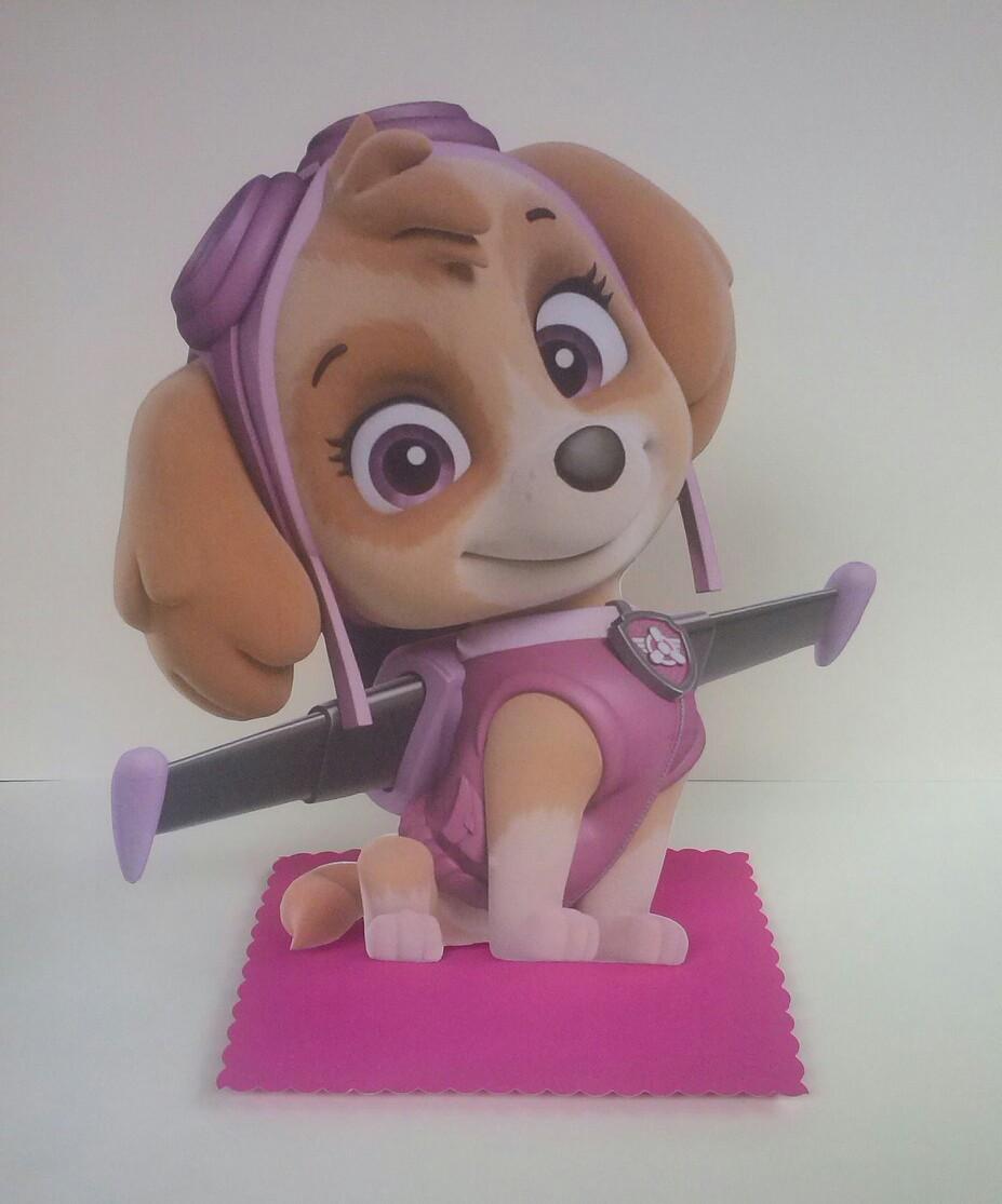 Lembrancinha De Cachorro Da Patrulha Canina Display No Elo7 Ms