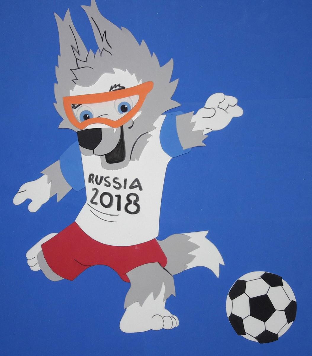 Mascote copa do mundo 2018 no Elo7  a699e24f122