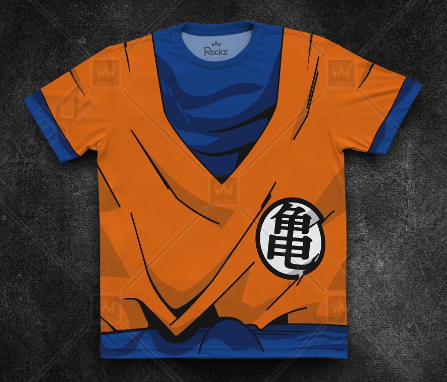 c74f622e03 Camiseta Goku Dragon Ball Masculina Adulto no Elo7