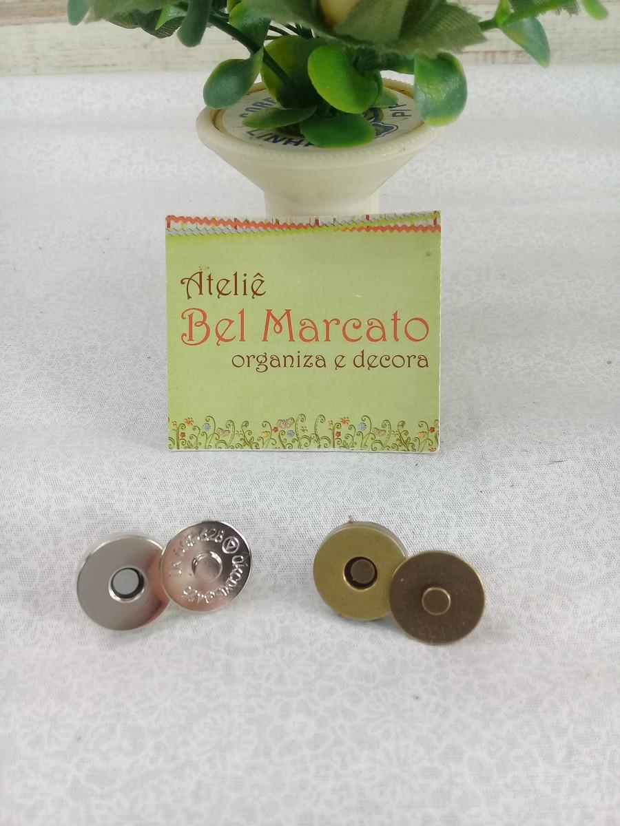 a67552a064 botao imã P niquel ou ouro velho no Elo7 | Ateliê Bel Marcato (B875A8)