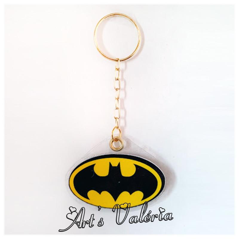Chaveiro Símbolo Batman no Elo7   Arts Valeria Personalizados (B8DB68) 3848bdf20d
