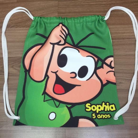 996832338 Mochila Personalizada - Turma da Monica no Elo7   Kais Design ...