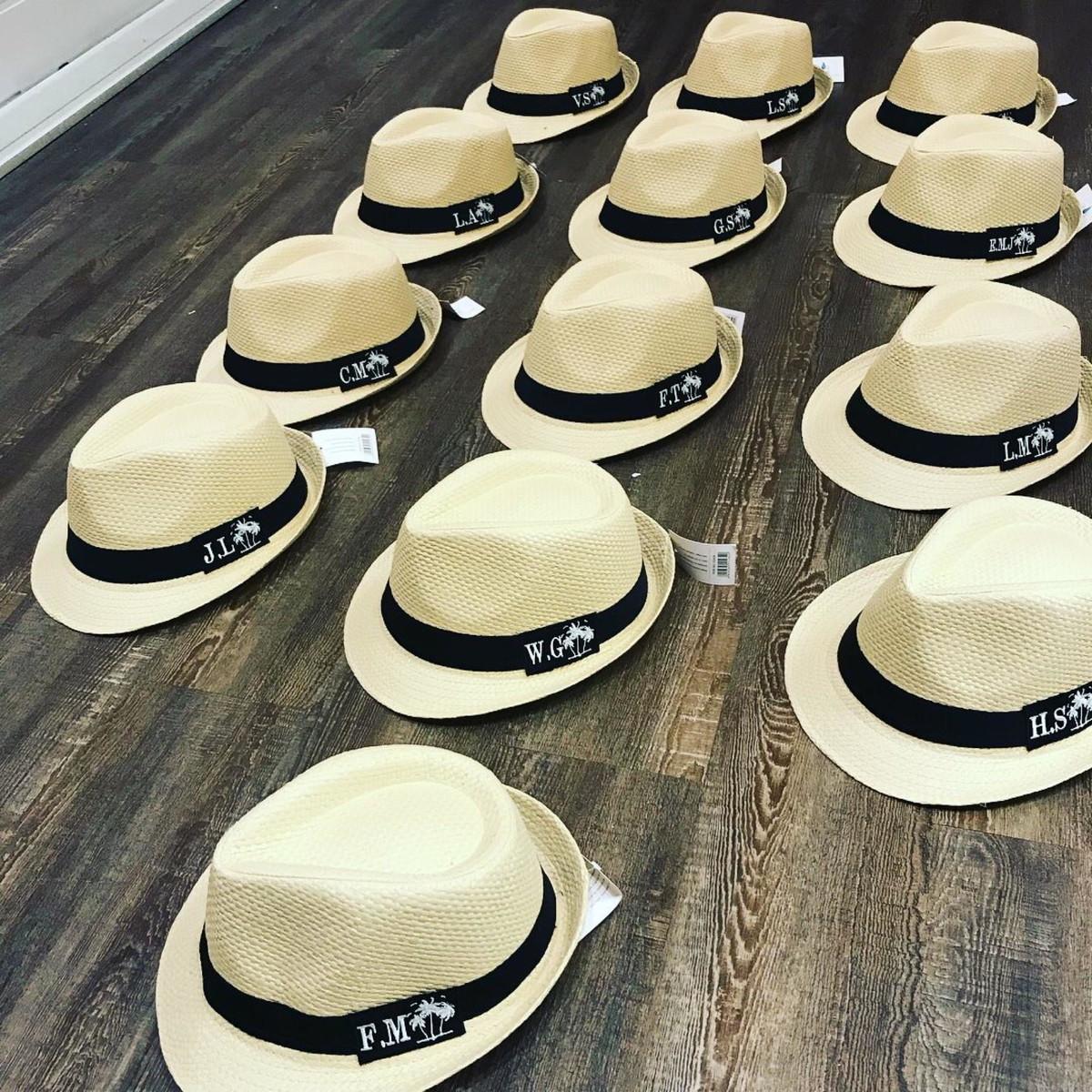 Chapéu Panamá Personalizado no Elo7  6094cb08688