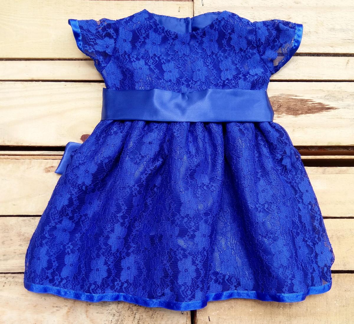 Vestido Festa Renda Meninas Infantil no Elo7  b0e4e7f630ca