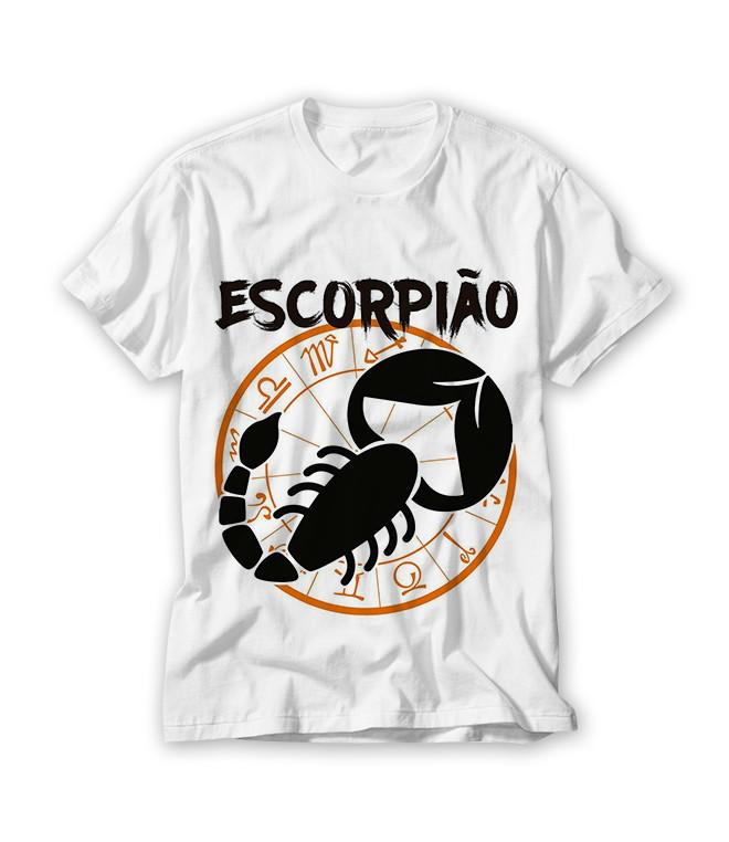 Camiseta Signo Escorpião No Elo7 Ra Produtos Personalizados B9a898