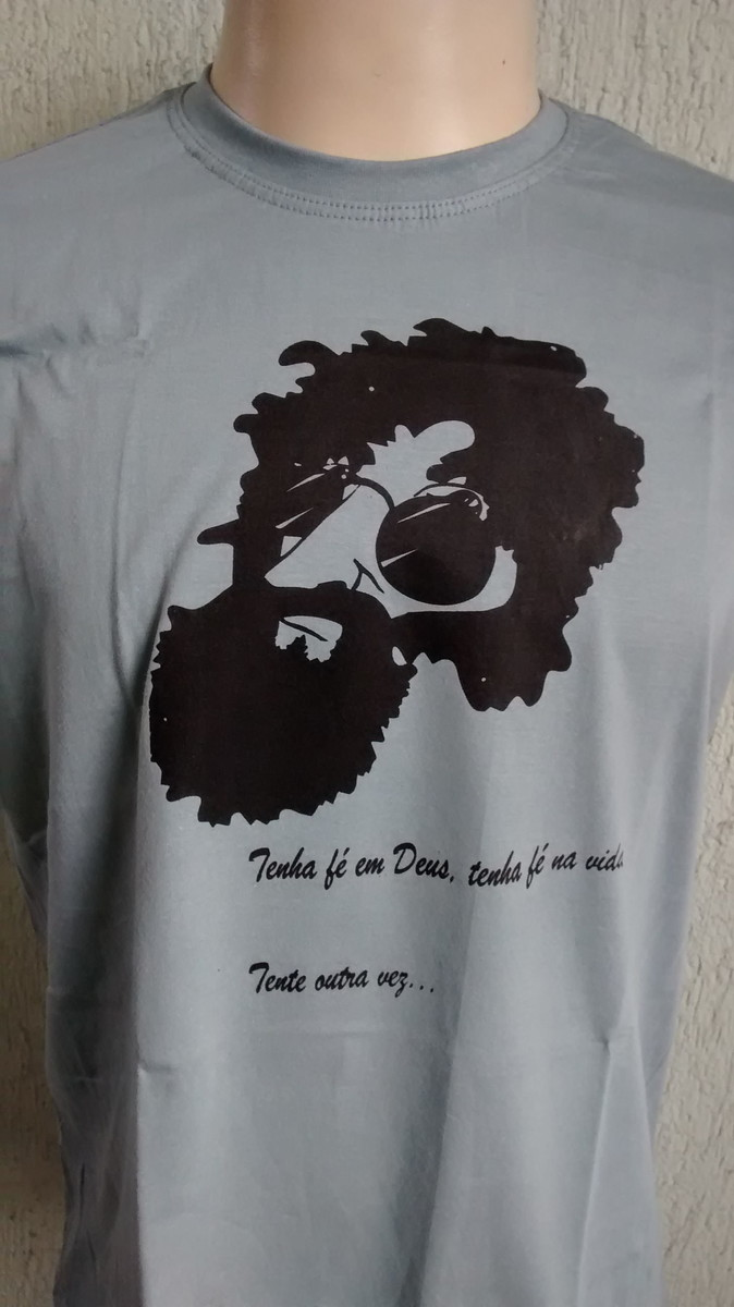 fe2ac1d7b Blusa Camiseta Personalizada Raul Seixas Masculina Feminina no Elo7 ...