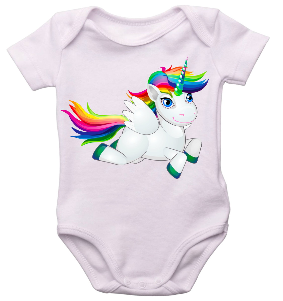 Body unicrnio lindo customizao bebs t Bebs 0a2bde0ece1