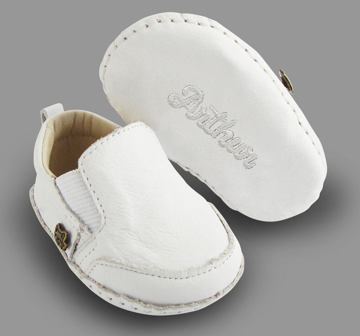 4c6d5eb6f1 Tênis de Bebe Personalizado Todo Meu Estilo Branco no Elo7