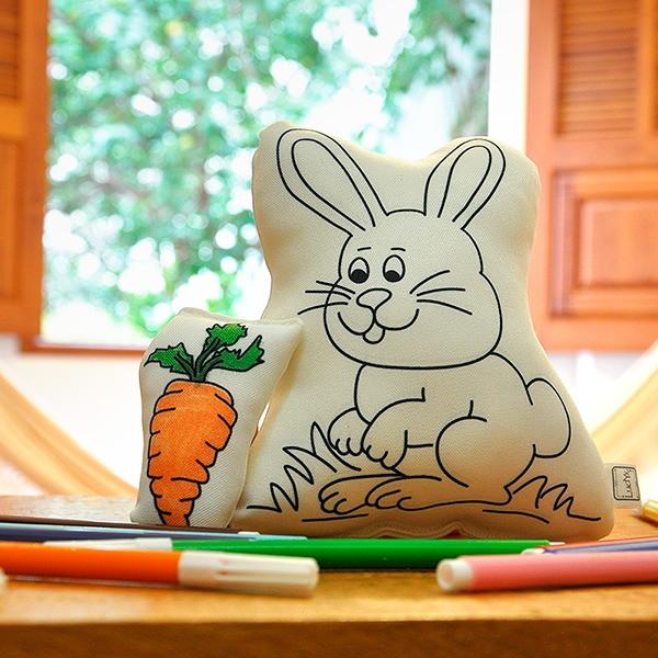 coelho de páscoa cenoura p colorir canetinhas no elo7 ludyx