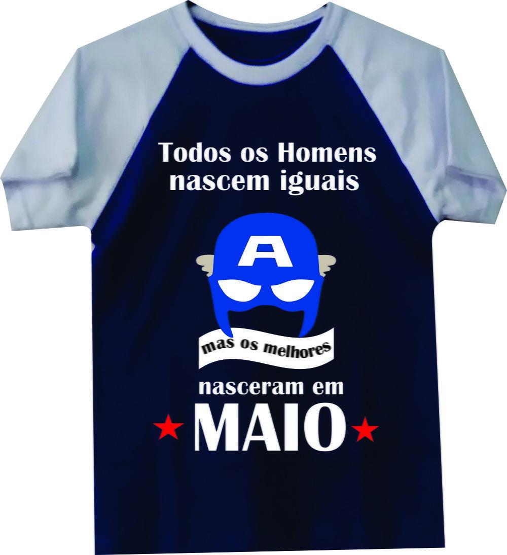 bc0a509ff7 Camiseta Personalizada mêsversario maio - NG Mega Store no Elo7