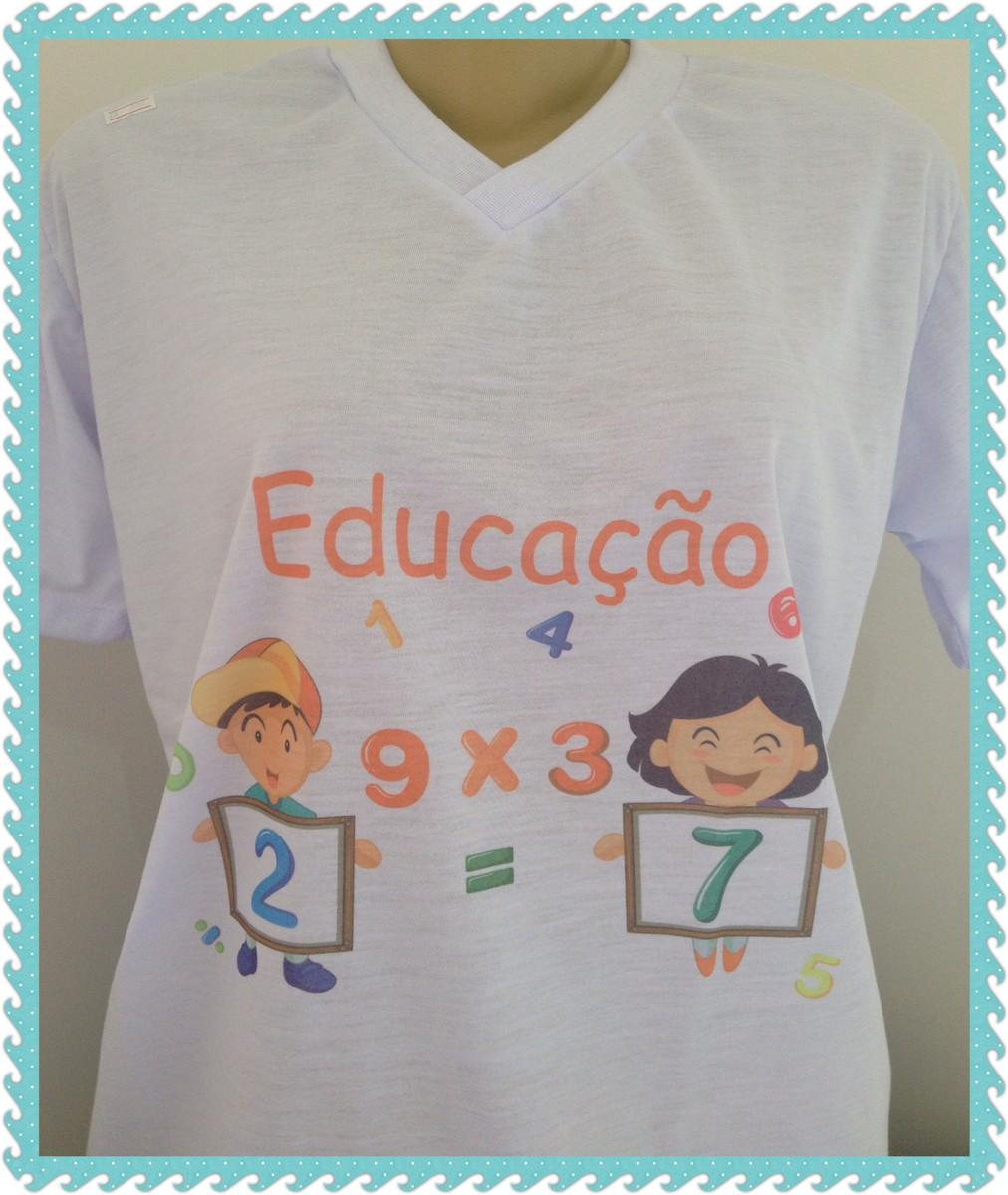 Camiseta 100% poliester estampa em sublimação no Elo7  28fd9a9871b