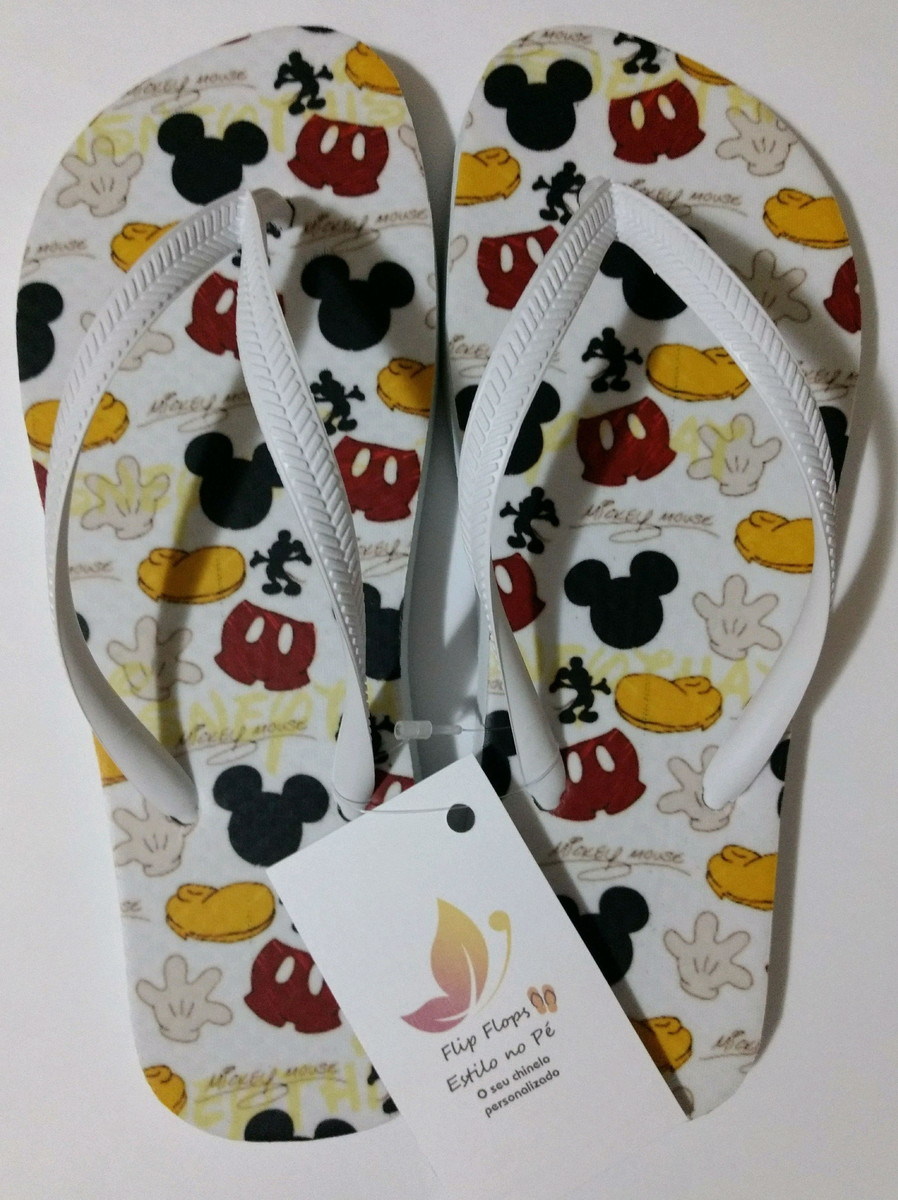 777d96d1367ccf Chinelo Mickey Mouse