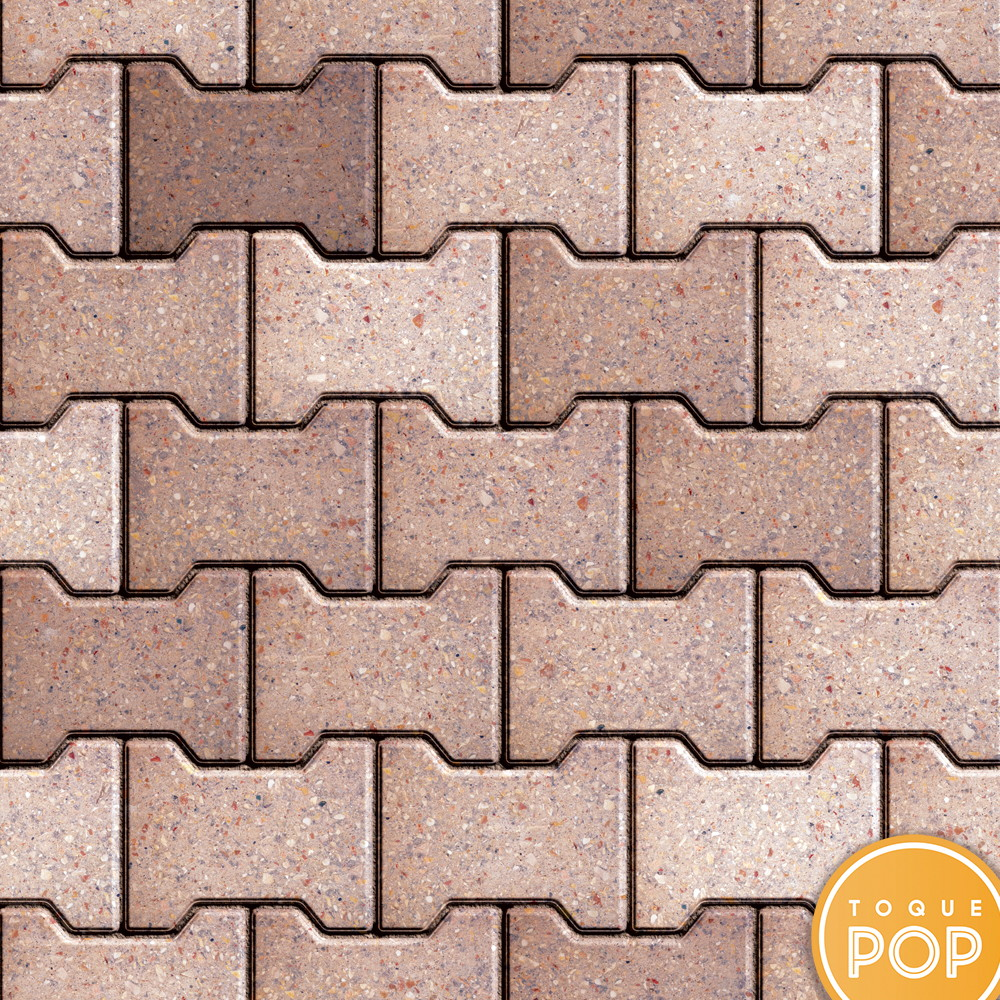 39668eca0 Papel De Parede Tijolo Concreto Mosaico Adesivo Lavável 3m no Elo7 ...