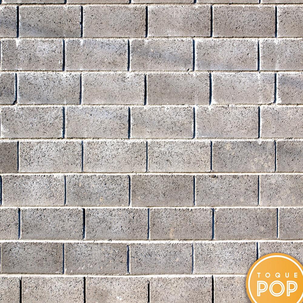 cbd071eab Papel de Parede Adesivo Concreto Tijolo Rustico 10m no Elo7