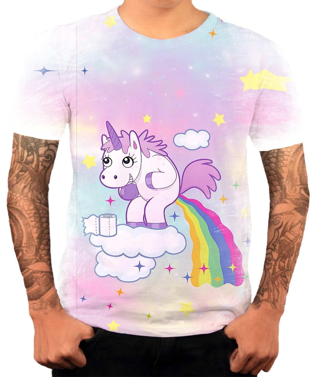camisa camiseta personaliza animal desenho unicórnio 9 no elo7