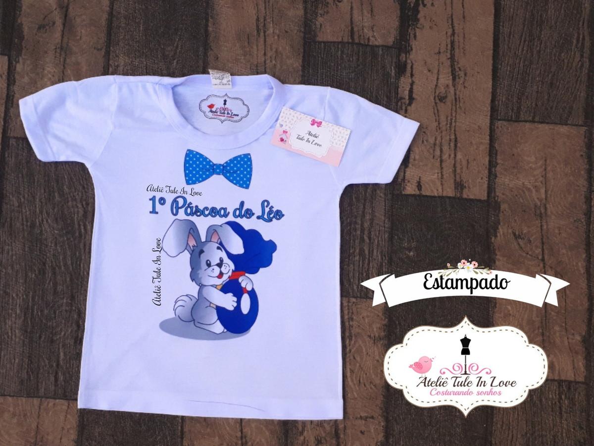 Camiseta Páscoa personalizado ESTAMPADO no Elo7  f4b51b8ae6627
