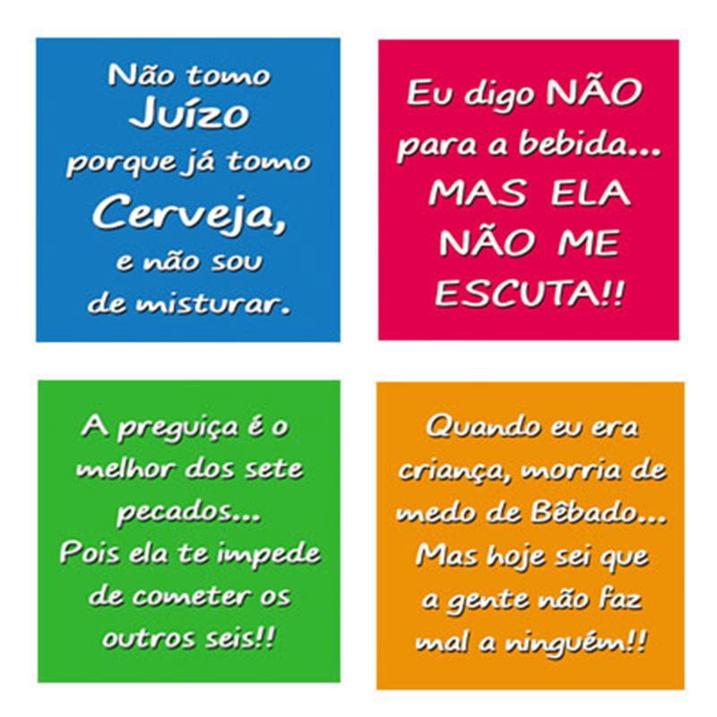 Porta Copos Frases Jogo C 4
