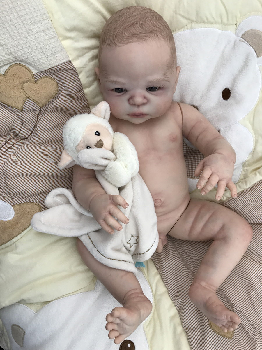17inch Knox Reborn Baby Doll - Realistic And Lifelike