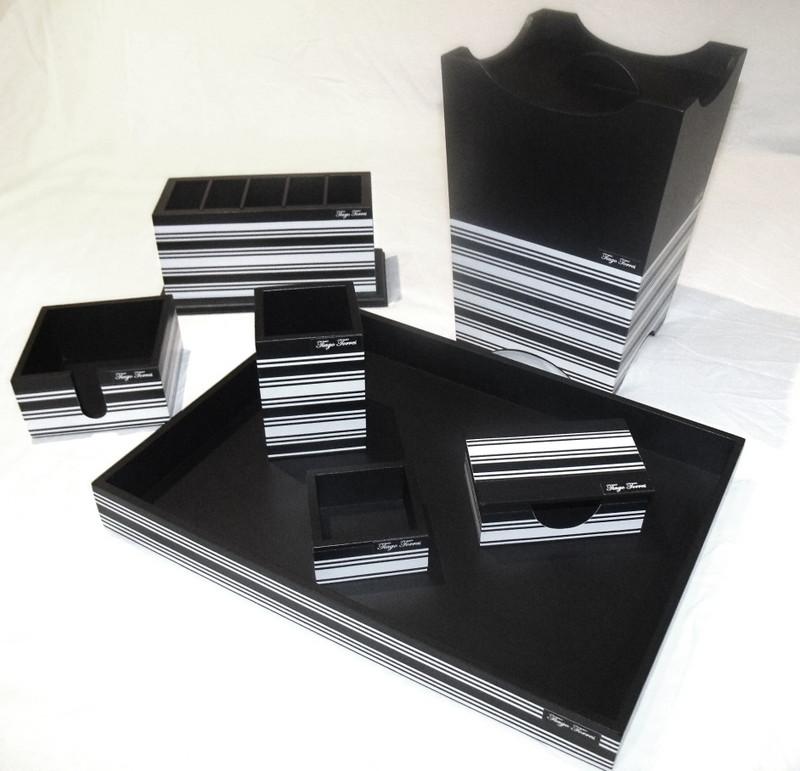 Organizador de mesa com 7 peças personalizado no Elo7  0c9cbc9c1a42f