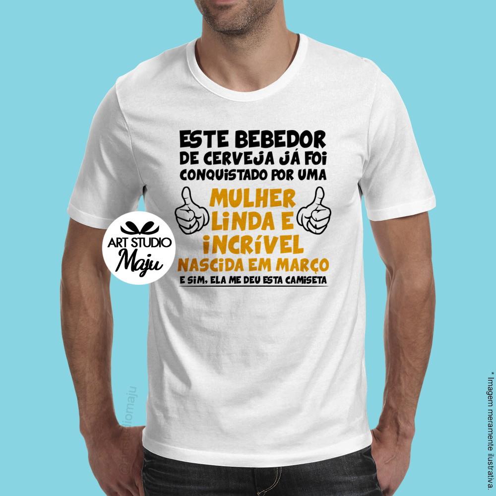Camiseta Masculina Personalizada - Este bebedor de cerveja no Elo7 ... c1e3ad87ff0