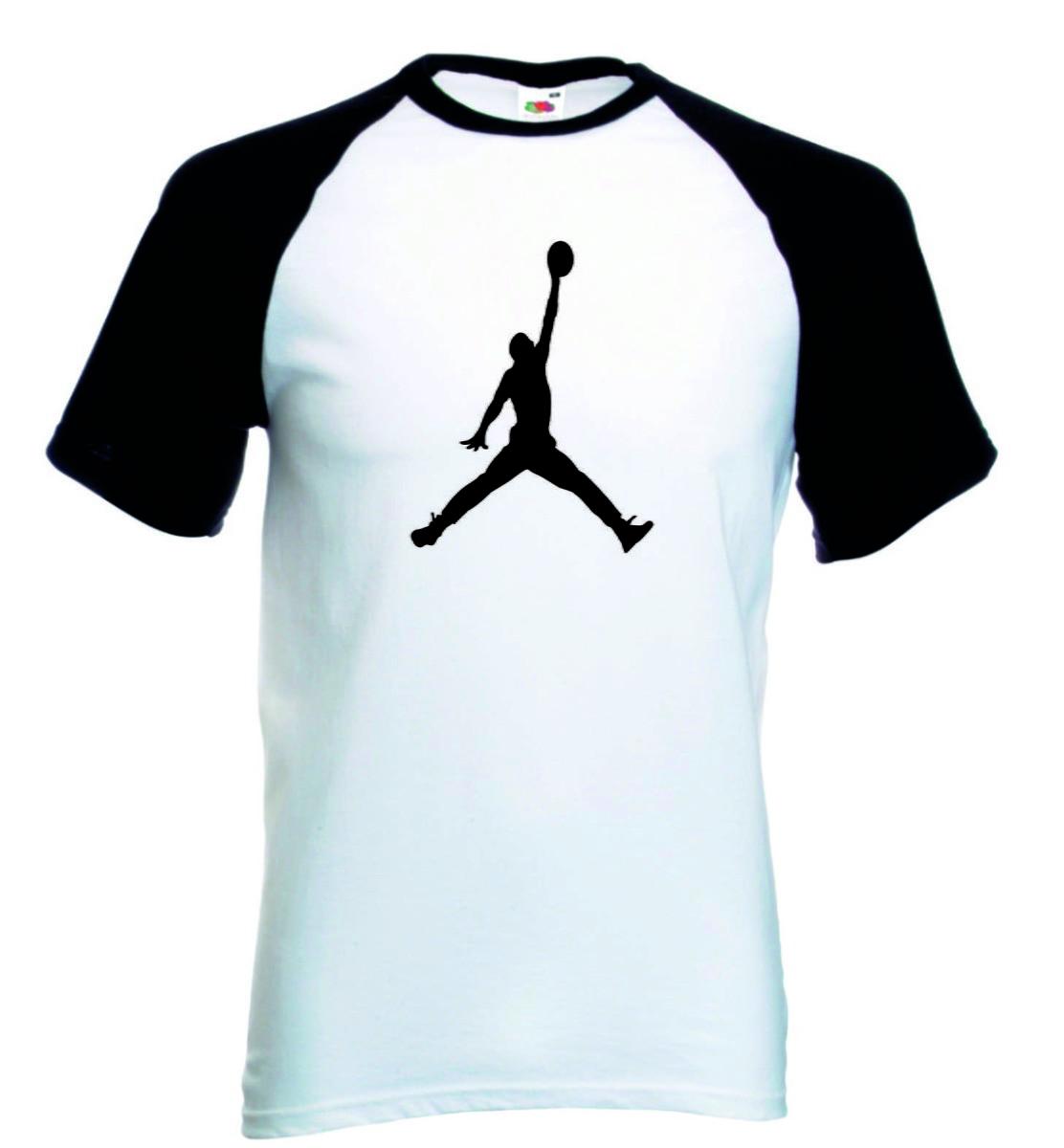 1fd3d2f6a85 Camiseta Raglan Manga Curta Jordan Basquete no Elo7