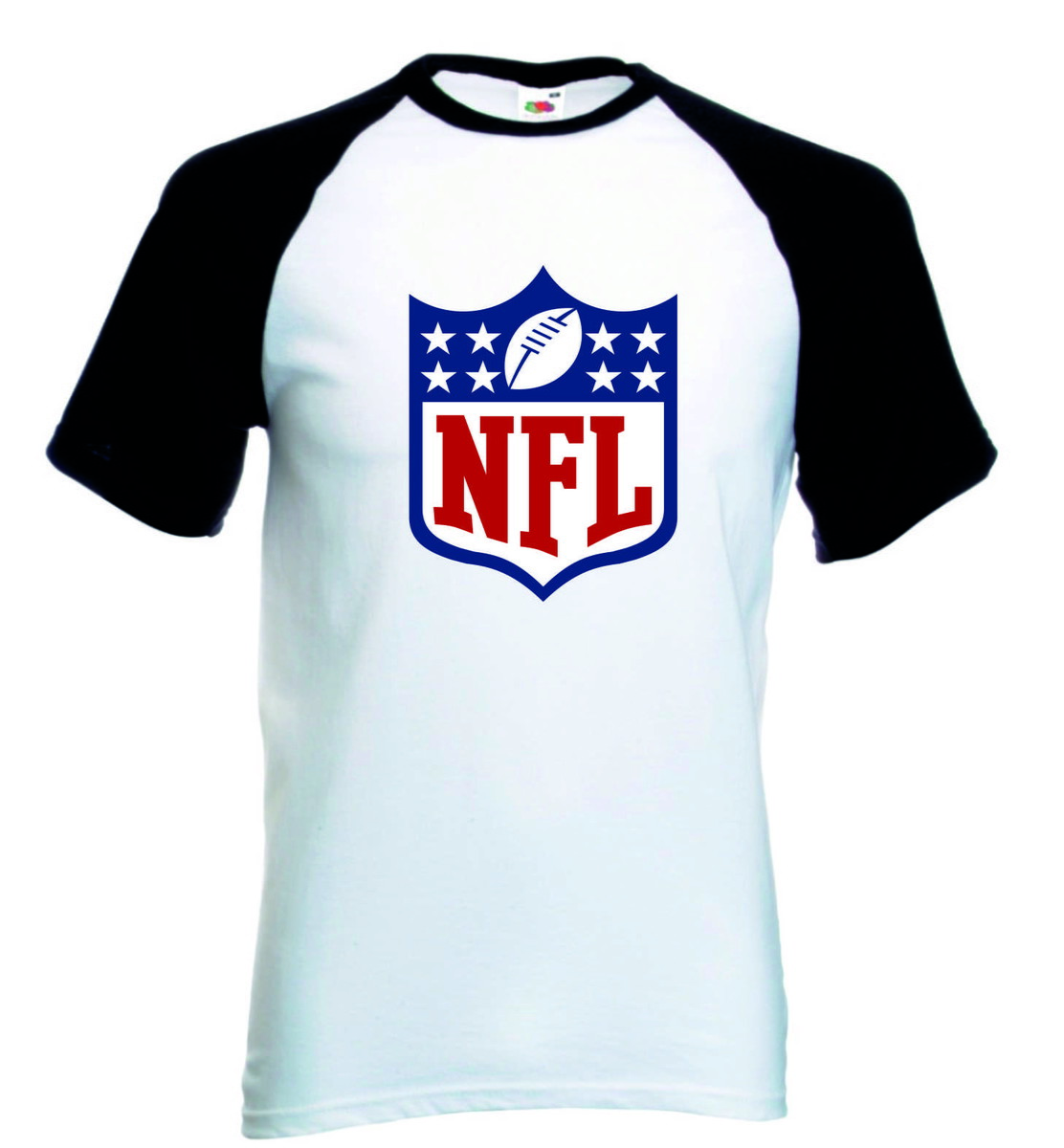 Camiseta Raglan Manga Curta NFL Futebol Americano no Elo7 ... 80e8a1028b6fc