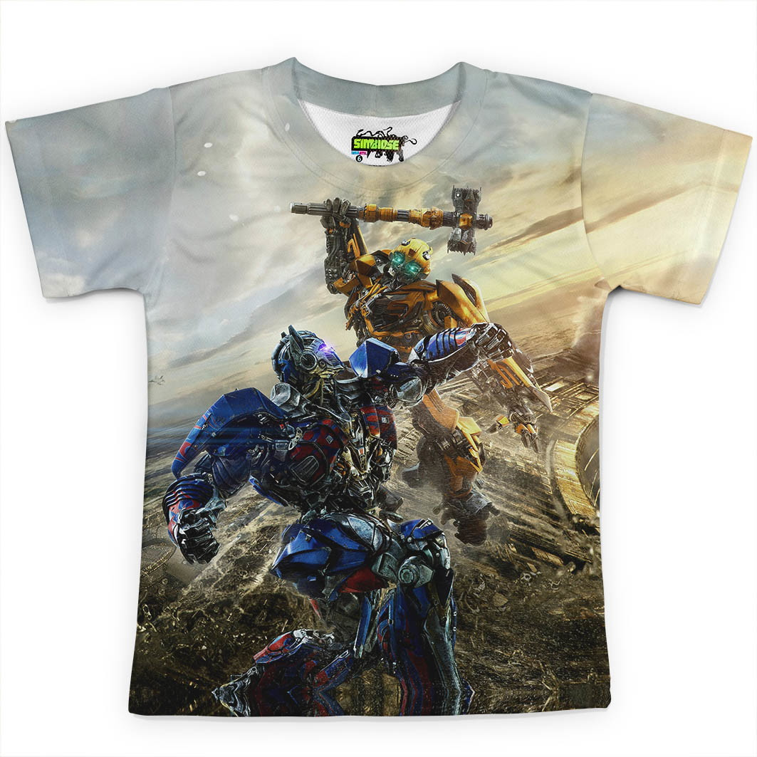 ae0923aa5b Camiseta infantil Transformers Md02 no Elo7