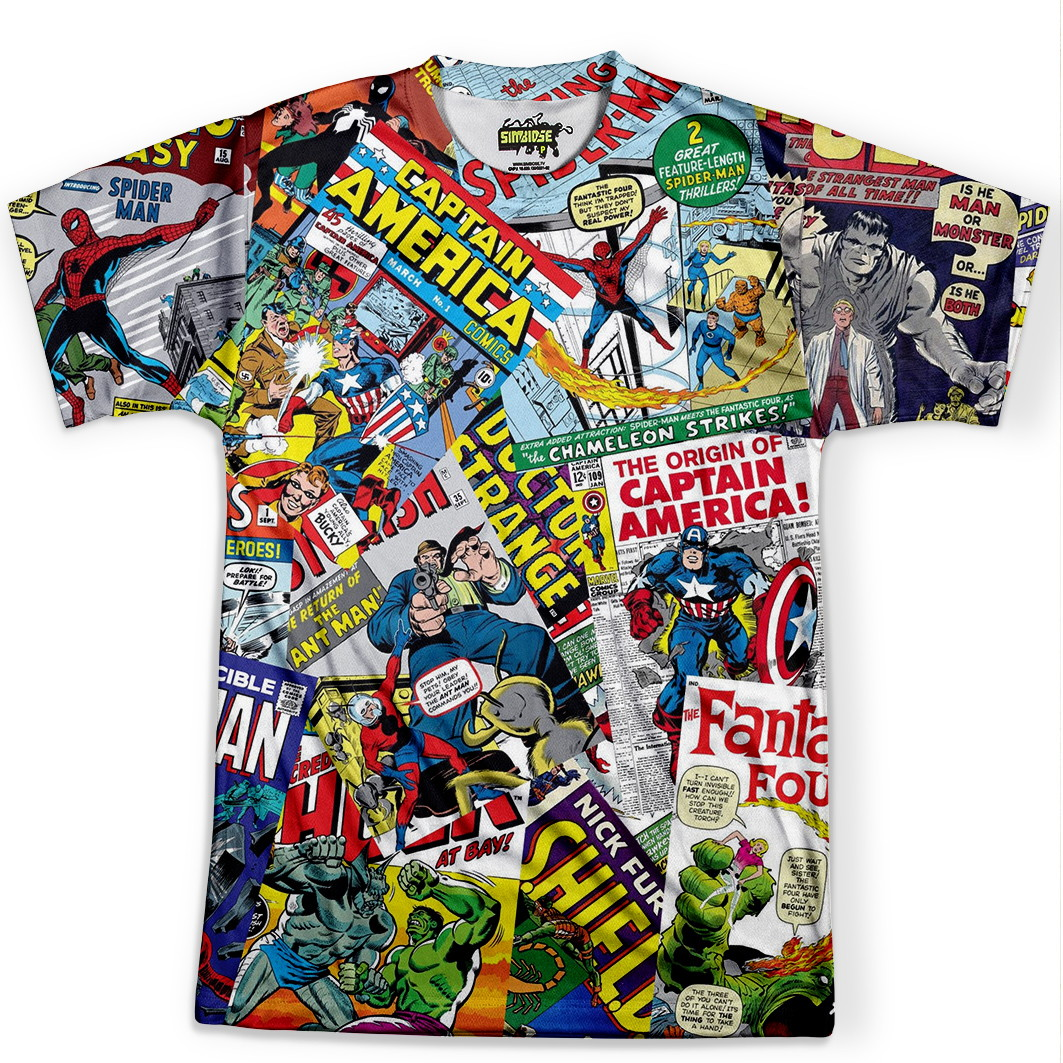 a45b86ccc7 Camiseta Masculina Quadrinhos Marvel no Elo7 | Simbiose TV (BB68B8)