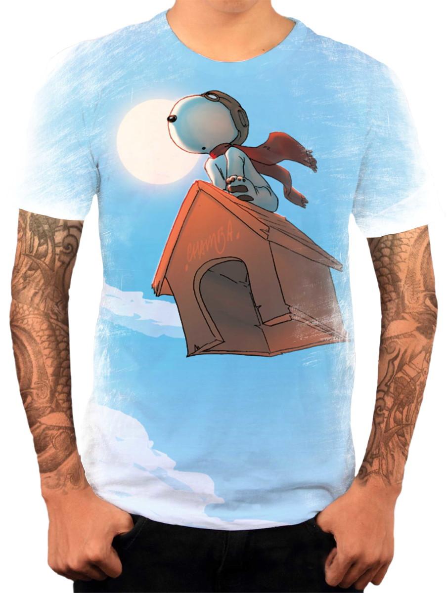 620a4ce52 Camisa Camiseta Personalizada Desenho Cartoon Snoopy 1 no Elo7 ...