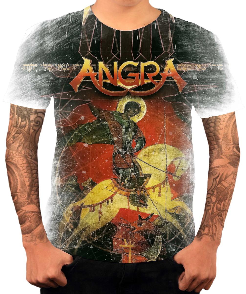 Camisa Camiseta Personalizada Banda De Rock Angra FHD 3 no Elo7 ... f28f7f769f09a
