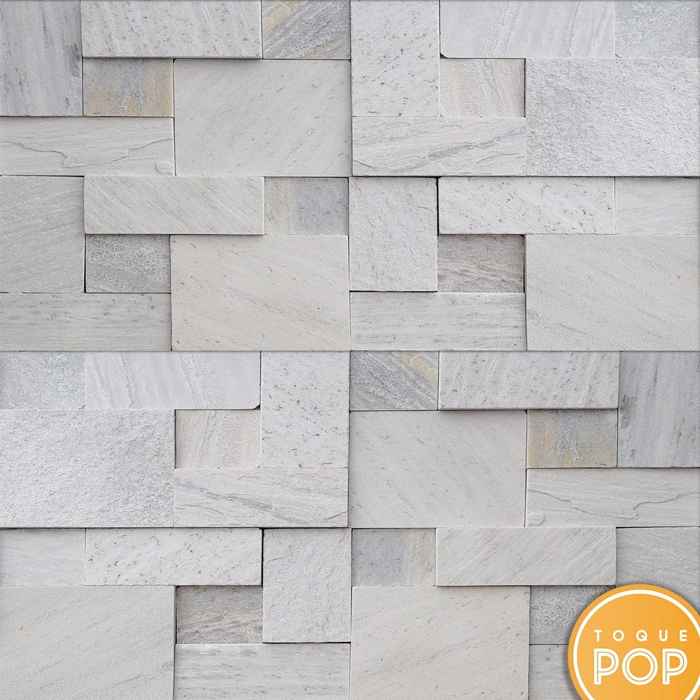 Papel de parede pedra canjiquinha mosaico autocolante 10m for Mosaico adesivo 3d