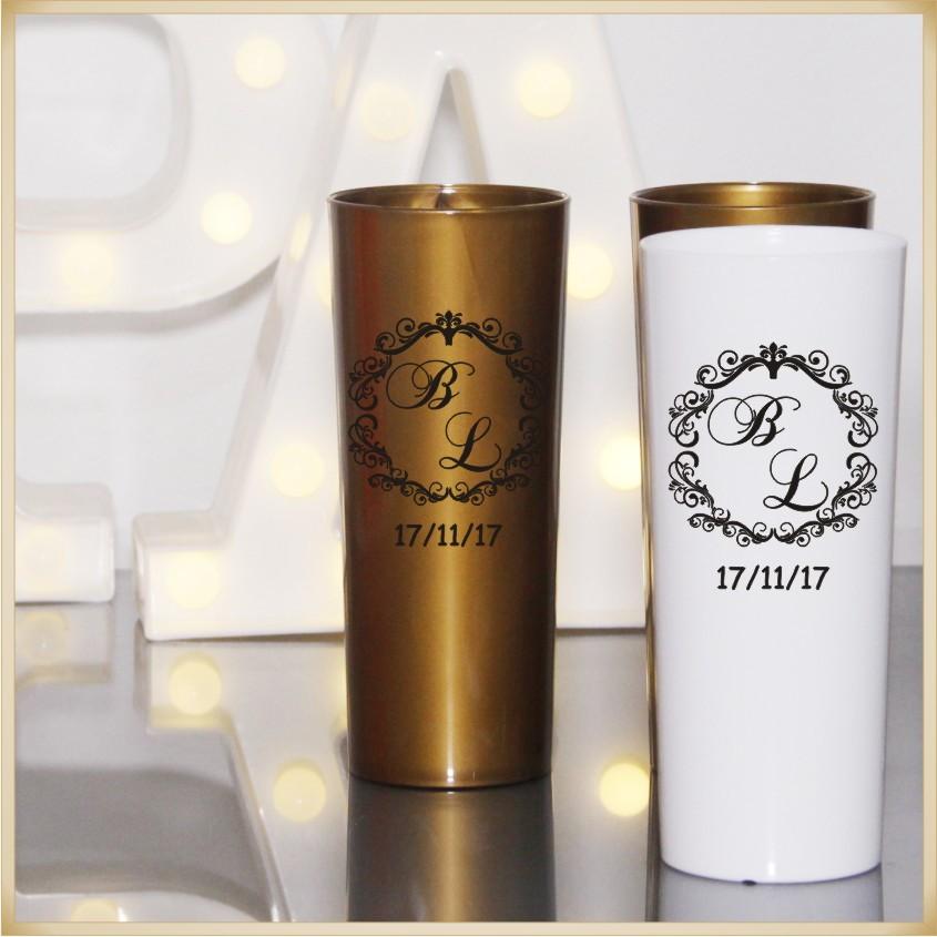 d2da625d5 Copos long drink personalizados para festas de casamento no Elo7 ...