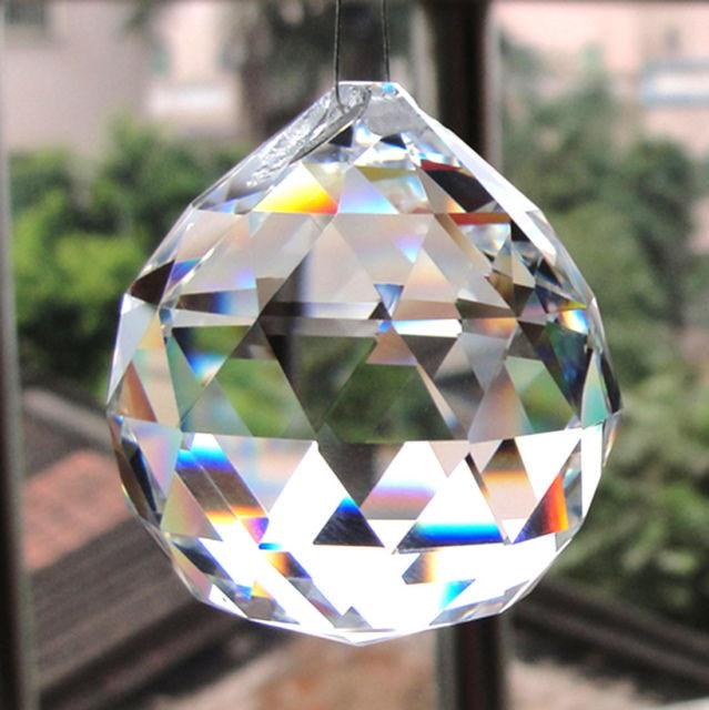 1393f00649f Zoom · Bolas Esferas Multifacetada Cristal 4