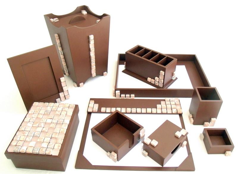 Organizador de mesa com 10 peças no Elo7  d716da27676bb