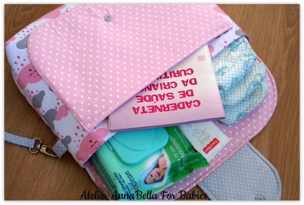 Bolsa Porta Fraldas Personalizada no Elo7  22bbdc6bfb21