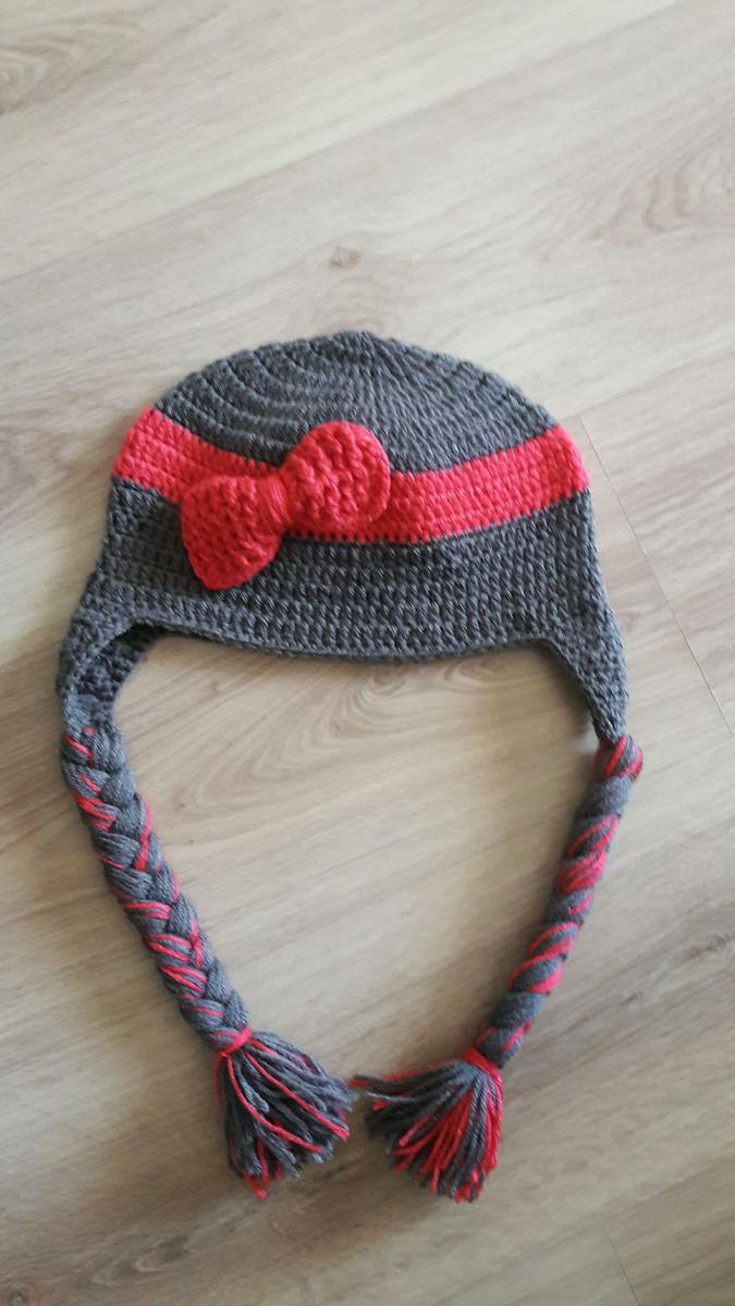 Touca de Croche menina trança no Elo7  43711226464