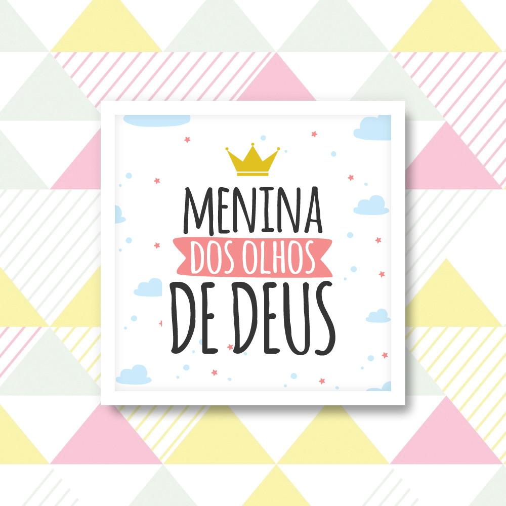 Quadro Menina Dos Olhos De Deus 20x20cm No Elo7 Idée Decor Bc60da