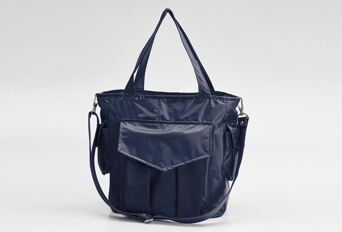 3c3a991a75 Bolsa Fulaninha Nova Iorque Azul Marinho no Elo7