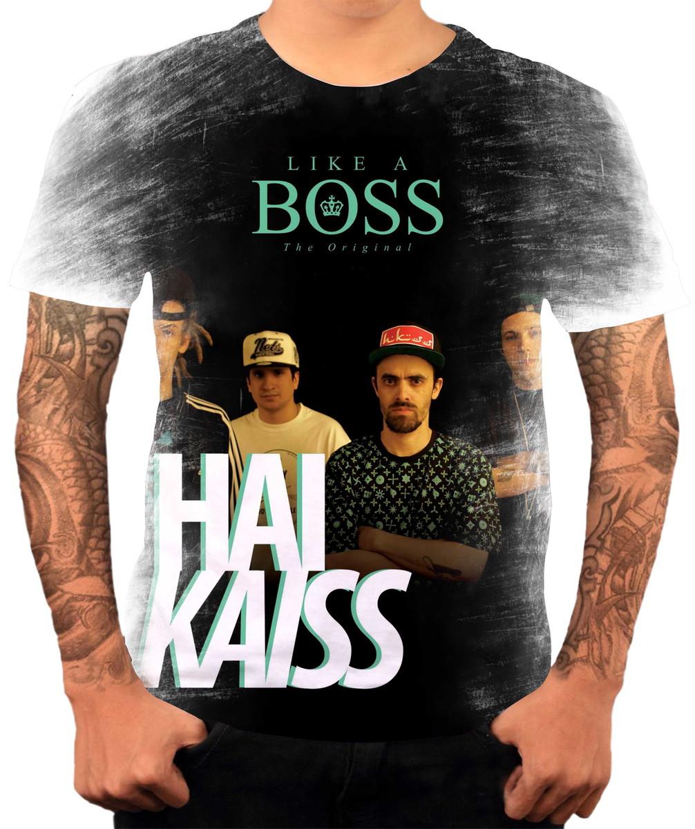 Camisa Camiseta Personaliza Grupo De Hip Hop Rap Haikaiss 2 no Elo7 ... 6990ccbdb4f