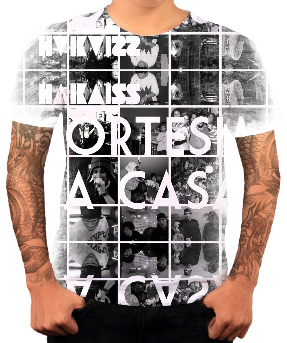 Camisa Camiseta Personaliza Grupo De Hip Hop Rap Haikaiss 3 no Elo7 ... e01a2cf44e9