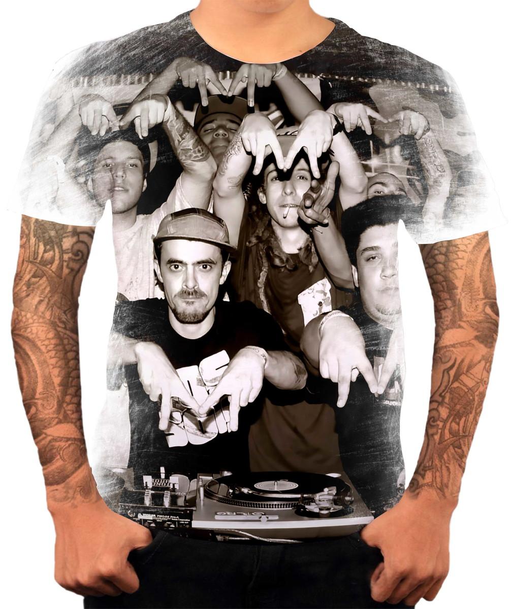 Camisa Camiseta Personaliza Grupo De Hip Hop Rap Haikaiss 6 no Elo7 ... 3ee138b4d83
