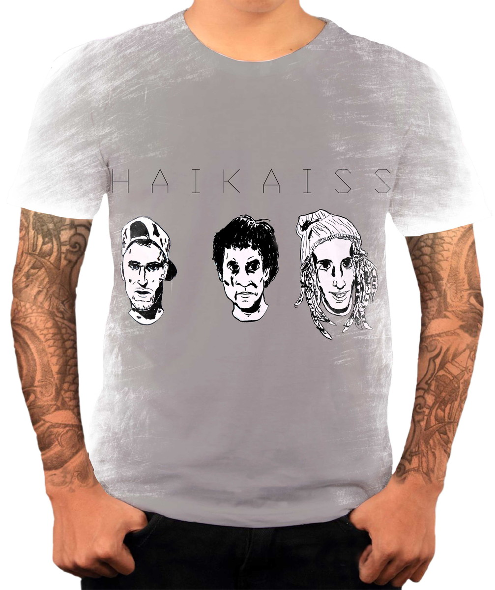 Camisa Camiseta Personaliza Grupo De Hip Hop Rap Haikaiss 8 no Elo7 ... 9e45b887fa7