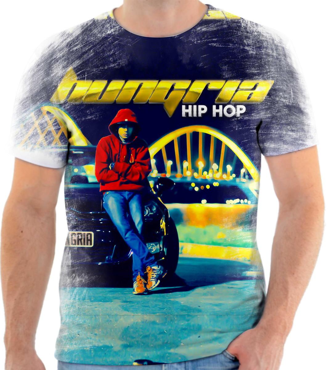 Camisa Camiseta Personaliza Cantor Hungria Hip Hop Rap 3 no Elo7 ... b3226b43e45