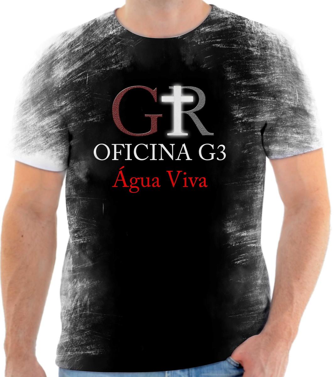 Camisa Camiseta Personalizada Banda De Rock Oficina G3 4 no Elo7 ... ca34f4c105628