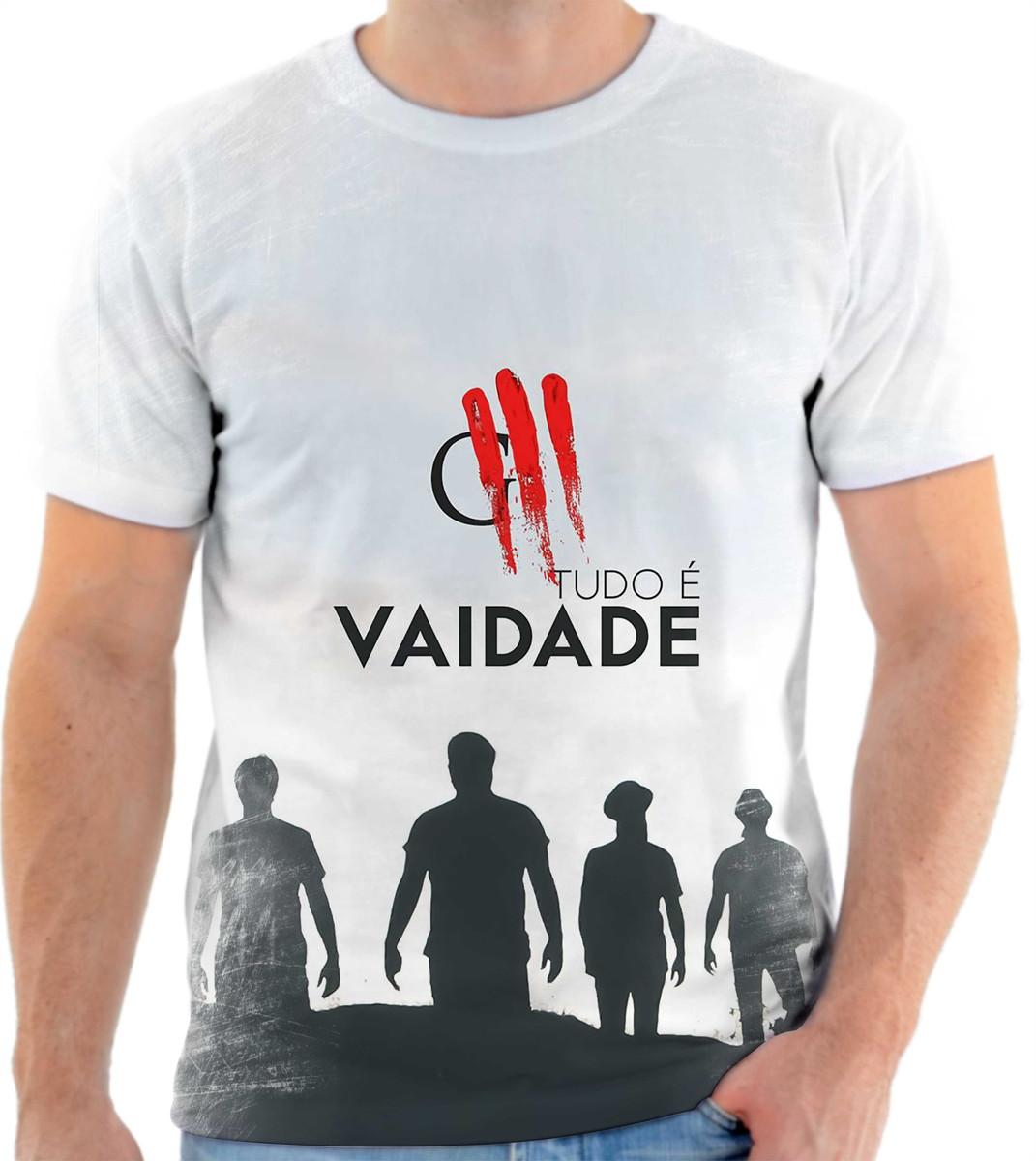 Camisa Camiseta Personalizada Banda De Rock Oficina G3 6 no Elo7 ... 89b39c3d72711