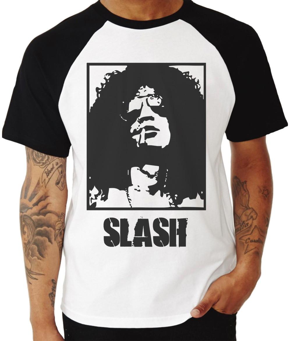 2bda2b261e Camiseta Slash Guitarra Hard Rock no Elo7 | Ostey Clothing (BC8A12)