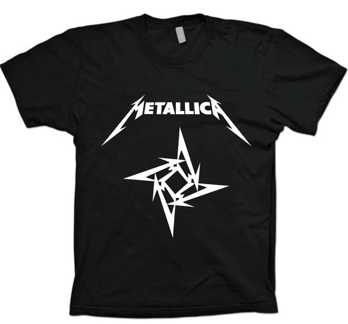17d3a48c29826 Camiseta Bandas Rock - Metallica - 100% Algodão!! no Elo7 | Master ...